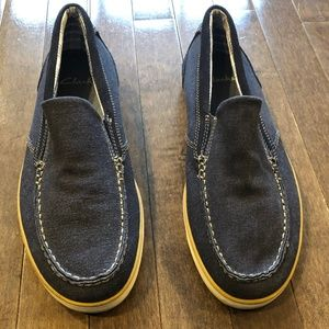 Other - Clarks Blue Denim Loafers